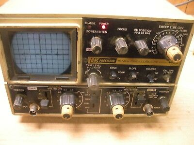 Orders Are Welcome. Collectibles Bk Precision 1432 Oscilloscope 15 Mhz Breweriana, Beer