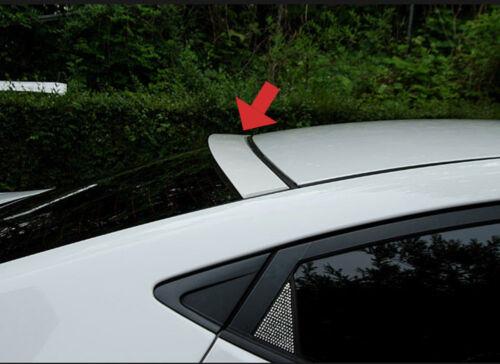 Rear Window Roof Spoiler Matte Black For 11 12 Hyundai Elantra MD