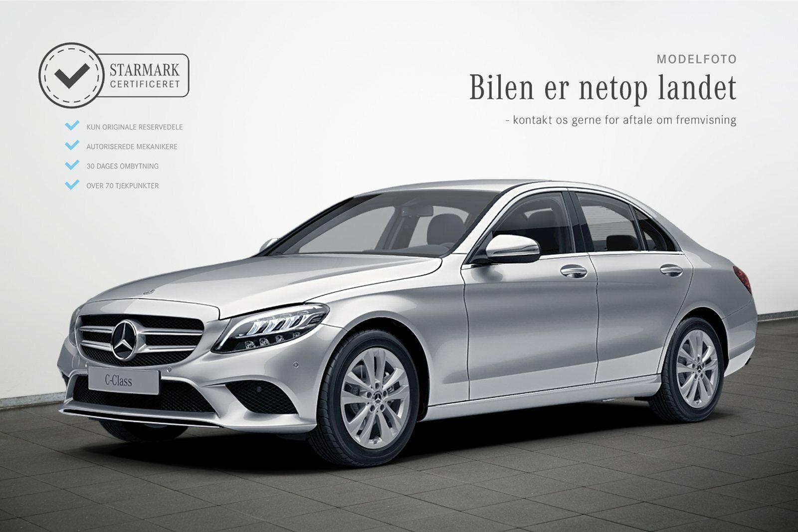 Mercedes C220 d 2,0 Avantgarde aut. 4d - 429.900 kr.