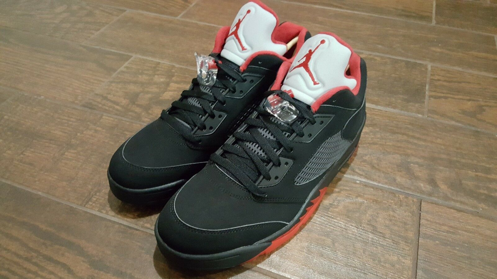 Brand New Air Jordans 'Breds' Retro 5's size 12