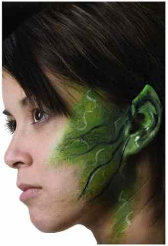 Small Space Ears Alien Pointed Vulcan Halloween Costume Makeup Latex Prosthetic