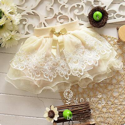 Toddler Baby Girls Floral Dress Mini Skirt Kid Tutu Party Dress Short Skirt 1-5T