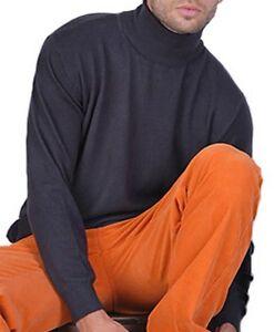 Pullover da 100 alto Cashmere L uomo Balldiri color strati 2 collo a antracite a qS6xE1wwY