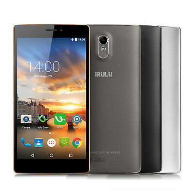 iRULU V3 6.5'' SmartPhone 1/8GB Qualcomm Quad Core 2G/3G/4G Unlock Android Phone
