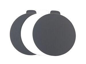 5-034-Black-Waterproof-Adhesive-PSA-Tab-Sanding-Discs-100-Pack-400-Grit