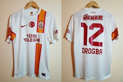 Size L GALATASARAY signed by Didier Drogba Home Jersey