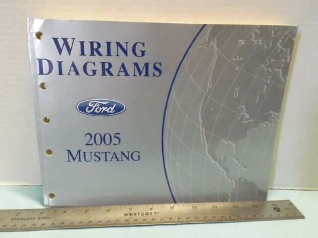 Ford Oem 2005 Mustang Official Factory Wiring Diagrams