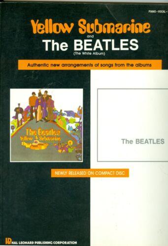 Yellow Submarine and The Beatles White Album songbook sheet music