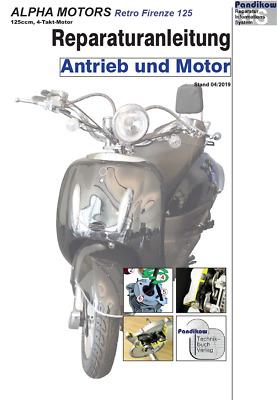 Reparaturanleitung RIS für Flex tech Retro Firenze 125 Antrieb und Motor