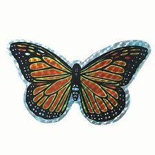 Small Orange Butterfly Door Screen Saver