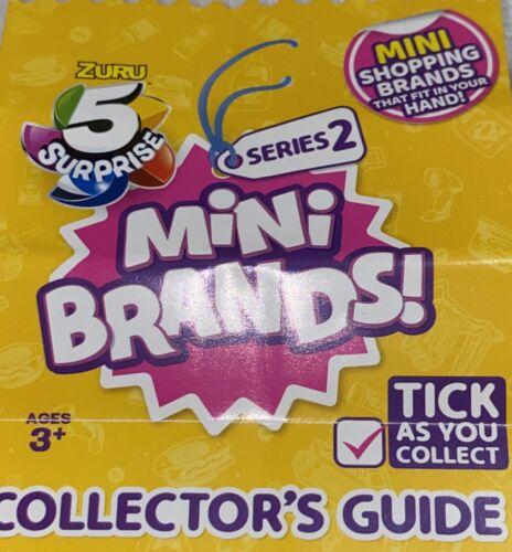 ZURU 5 SURPRISE MINI BRANDS Series 2 Stubbs Original Legendary Bar-B-Que Sauce