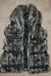 New Buffalo 128 David Britton Women's Heavyweight Vest Faux Fur lille TrRqTUz