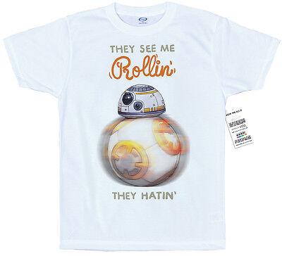 Rollin' Droid T shirt Design, #Starwars, #BB-8