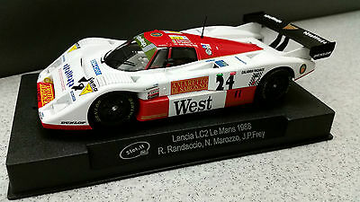 Carrera digital 132 Slot It Umbau Lancia LC2 Le Mans 1988, West, m.Licht, neu