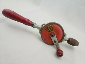 Rare-Vintage-Metabo-126-Hand-Drill-Egg-Beater-Antique-Tool-Made-in-Germany
