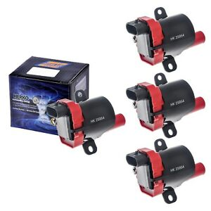 Set-of-4-Herko-B045HE-Ignition-Coils-For-Chevy-Hummer-GMC-Cadillac-1999-2007