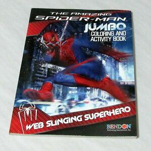 The-Amazing-Spiderman-Jumbo-Coloring-and-Activity-Book-Web-Slinging-Superhero
