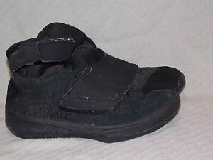 Image is loading 2008-Youth-Sz-7Y-Black-Nike-Air-Jordan-
