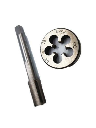 "New 1//2/""-28 Gunsmithing Tap and Die UNEF 22LR 223 5.56 9mm 1//2/"" x 28"