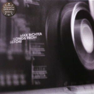 Max Richter - Songs From Before LP Classical Experimental Vinyl Record Rare!