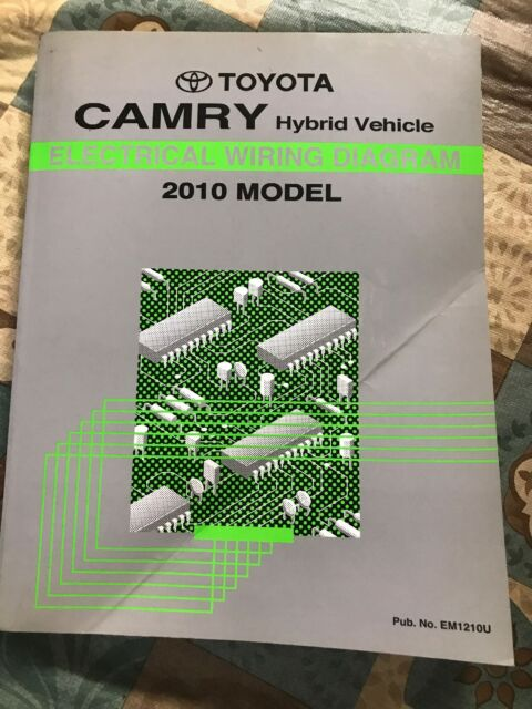 Toyota Camry Repair Manual Electrical Wiring Diagram 2010