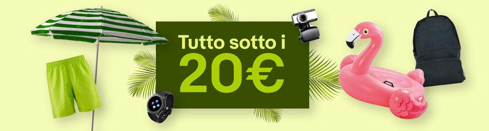 Approfittane ora - Tutto sotto i 20€ per la tua estate