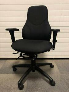Global Tritek Office Chair – Black Barrie Ontario Preview
