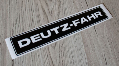 Deutz Fahr Aufkleber Kotflügel D4507 Baureihe Logo Emblem Sticker .