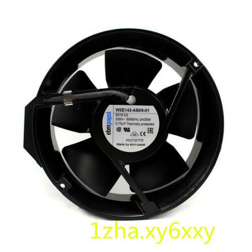 1pcs ebmpapst W2E143-AB09-01 230V 172x172*51mm fan  #1Z3