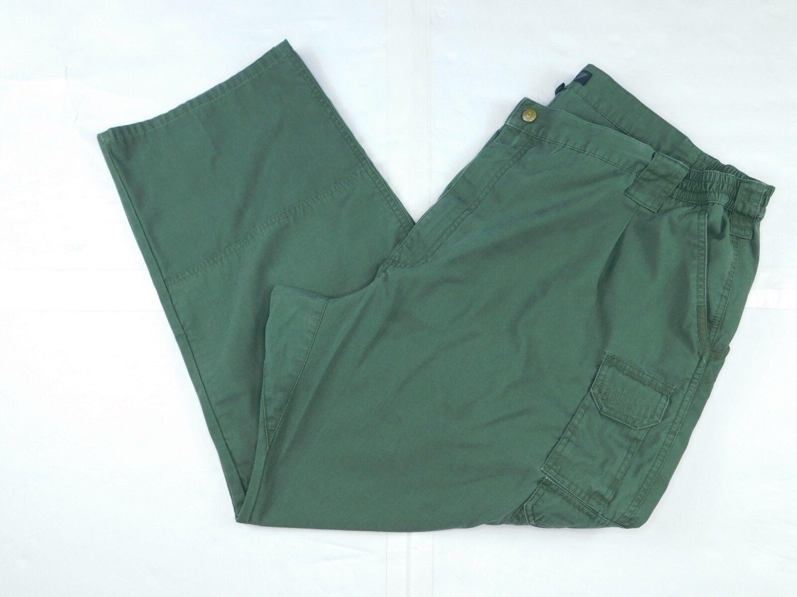 5.11 Men's Taclite Pro Tactical Pants (TDU Green) SZ 50