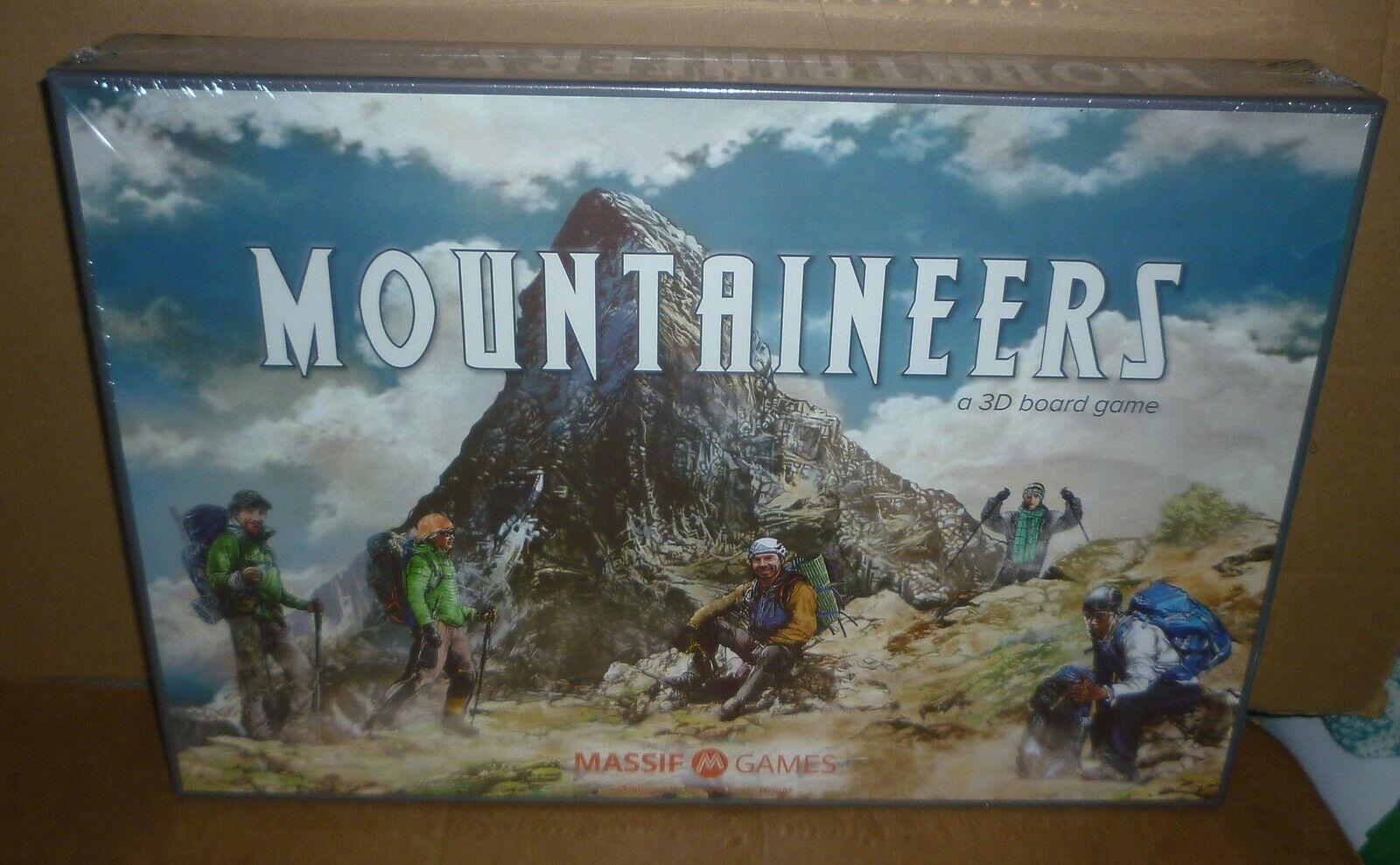 Montañeros 3D juego de mesa edición coleccionista Macizo (2019)
