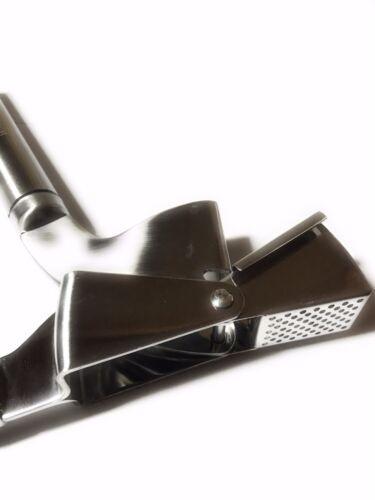 WinnerNext Stainless Steel Garlic Press Mincer Peeler /& Brush Set