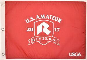2017 US Amateur OFFICIAL (Riviera) SCREEN PRINT Flag