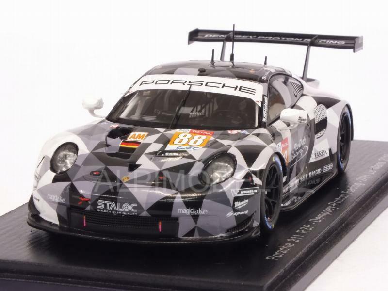 Porsche 911 RSR Le Mans 2018 Cairoli - Al Qubaisi - Roda 1 43 SPARK S7042