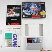 Terranigma - COMPLETE - MINT COND - COLLECTORS - Super Nintendo SNES Game PAL