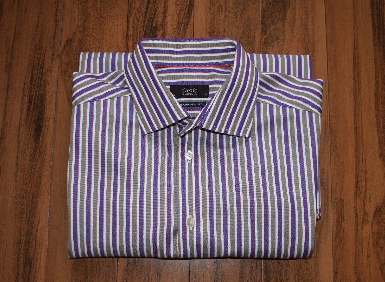 73523a6df67808 Stunning ETON Men s Shirt Size for SALE 41 16 nrrtuq14338-Formal ...
