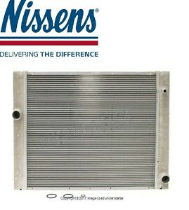 For BMW E60//E61 5-Series Radiator By Nissens Auto Trans Only 17 11 7 519 209