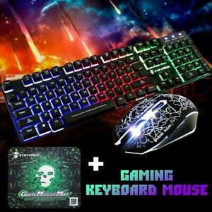 Rainbow-Gaming-Keyboard-and-Mouse-Set-T6-Backlight-Ergonomic-Usb-for-PC-Laptop