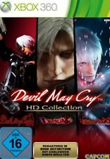 Xbox 360 Devil May Cry 1 + 2 + 3 HD Collection Edition alemán impecable