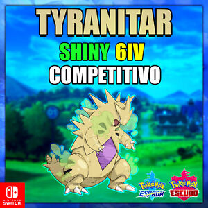 Tyranitar-Ultra-Shiny-6ivs-Pokemon-competitivo-Sword-amp-Shield-Galar
