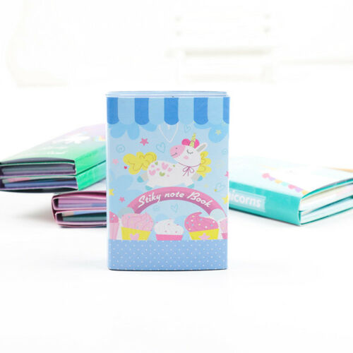 Unicorn Memo Pad Notepad Sticky Cartoon Animal Notes Stationery School Gift