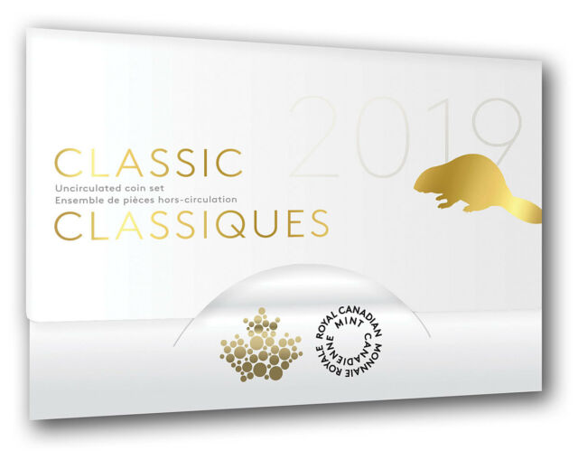 2019 Canada Classic Uncirculated Set of Coins