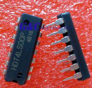 HD74LS00P-IC-HITACHI-DIP-Quadruple-2-Input-NAND-Gates-NEW-GOOD-QUALITY-Z83