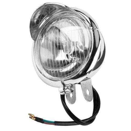 Motorrad Nebelscheinwerfer Zusatzscheinwerfer DC 12V Retro Bullet Lampe 1PCS