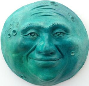 Turquoise-Full-Moon-Sculpture-by-Claybraven-Unique-Color-for-any-Room-Decor