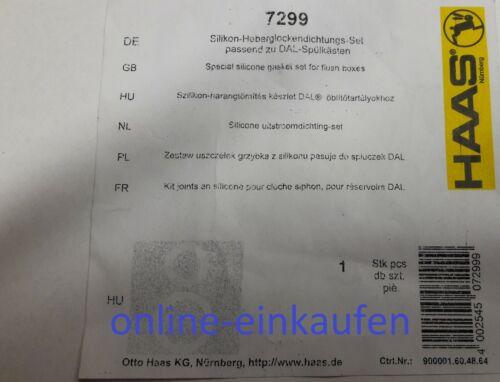 DAL Heberglockendichtung Set 65x48x2 /& 48x30x2  Spülkasten  Dichtung Für Grohe
