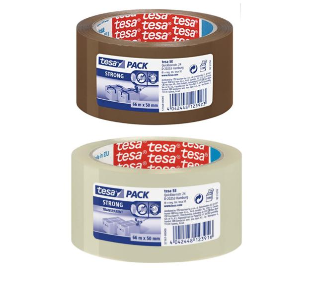 High Quality Transparent polypoprylene Packaging Tape Tesa 57167 60/MICR 50x66m