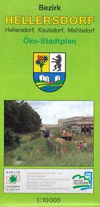 Stadtplan-Berlin-Hellersdorf-Hellersdorf-Kaulsdorf-Mahlsdorf-1994