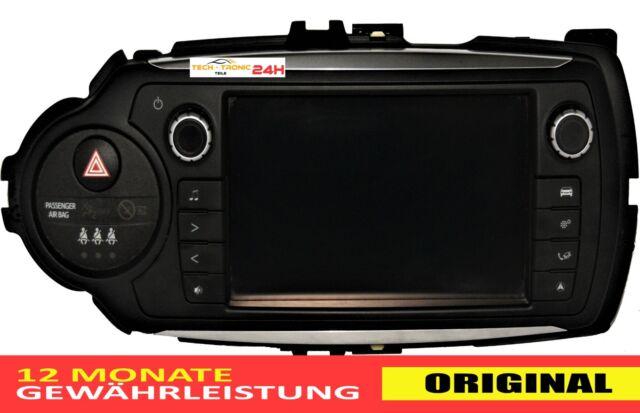 ORIGINAL TOYOTA YARIS III AUTORADIO RADIO CAR 861400D100 1380005350D101 100%