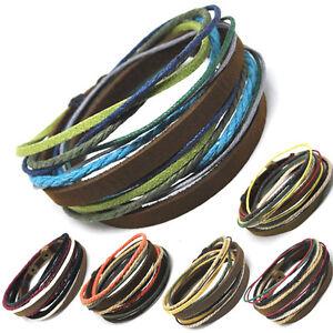 Hingebungsvoll Axy® Tibet Style! Wickelarmband Leder Armband!surferarmband Leather Bracelet Dauerhafter Service
